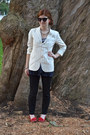 White-ralph-lauren-blazer-navy-free-people-shirt-ruby-red-kate-spade-flats