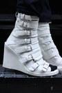 Black-boiled-wool-limi-feu-jacket-black-straight-leg-jil-sander-pants-white-