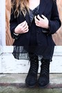 Black-ann-demeulemeester-boots-black-laddered-knit-topshop-dress-black-wool-