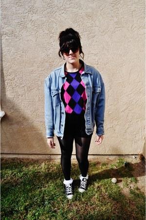 jean jacket Thrift Store jacket