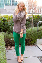 AG jeans - Aritzia sweater