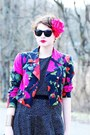 Black-vintage-dress-black-moschino-cheap-chic-jacket-green-moda-spana-heel