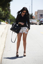31 Phillip Lim bag - Car Mar shorts - Urban 1972 top
