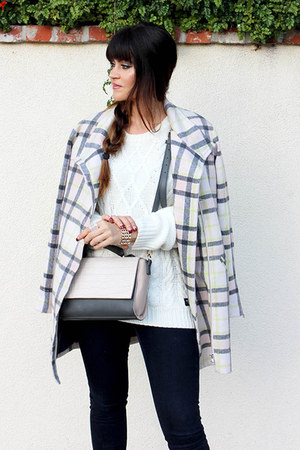 plaid Lulus coat
