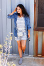 Heather-gray-teva-boots-light-blue-cooperative-charmane-dress