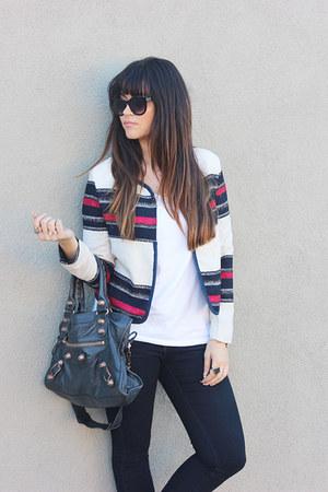 striped Sheinside jacket