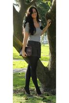 H&M top - H&M shorts - Dolce Vita shoes