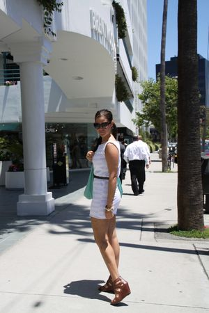 American Apparel dress - Dolce Vita shoes