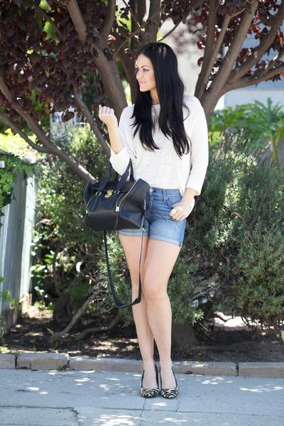 H&M sweater - fidelity shorts