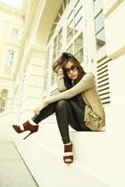 dark brown Jimmy Choo heels