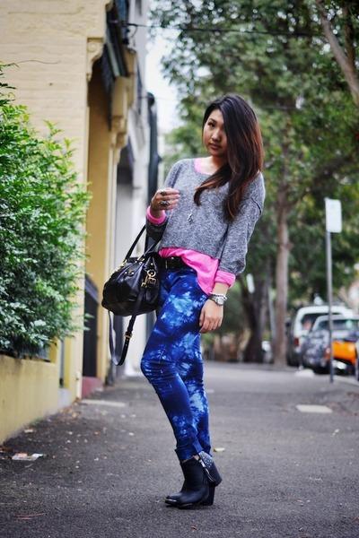 Blue Ties, Dye Divine Rights Of Denim Jeans, Black Prada Bags ...