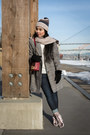 Heather-gray-shein-coat