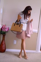 JCrew bag - trench coat cynthia rowley coat - Anthropologie belt