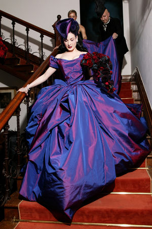 purple vivienne westwood dress