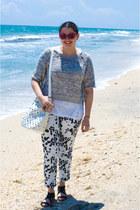 Forever 21 pants - pour la victorie shoes - 31 Phillip Lim sweater - Zara bag