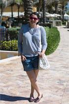 American Eagle shoes - Zara bag - American Eagle shorts