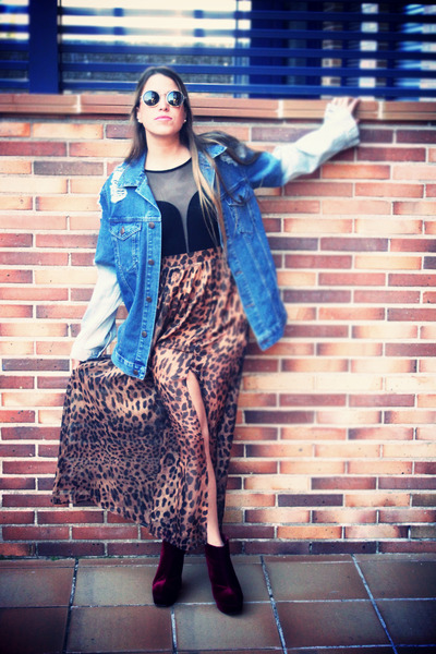 leopard print Shop Calico skirt
