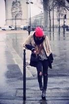 FURRY COAT coat