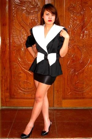 black SOSI STUFF blazer - black online buy skirt - black People are People heels