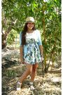 Blue-h-m-dress-blue-zara-cardigan-white-zara-shoes-people-are-people-hat-