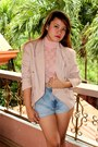 Neutral-charles-keith-heels-beige-sosi-stuff-blazer-light-blue-diy-shorts