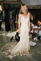 ivory John Galliano dress