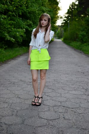 yellow choise skirt