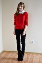 red Tally Weijl sweater