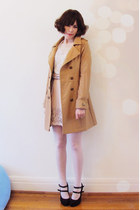 Mink Pink coat - Forever New top - embellished Forever New skirt