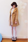 Mink-pink-coat-embellished-forever-new-skirt-forever-new-top