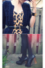Leopard-print-motel-dress-silverado-chloe-heels-bobble-asos-cardigan-fishe