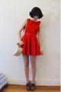 Wild-hearts-dress-heart-basket-forever-new-bag-chloe-heels