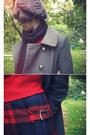 Tan-asos-sweater-beige-cableknit-asos-scarf-black-bow-asos-belt-black-leat