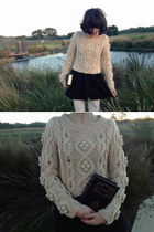 black book clutch Ebay bag - beige bobble chic wish sweater