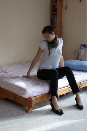 sans doute blouse - Zara jeans