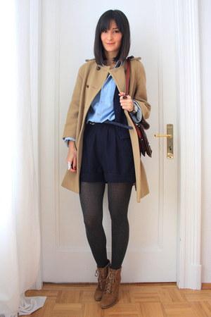 American Apparel blouse - American Apparel shorts - American Apparel vest - Amer