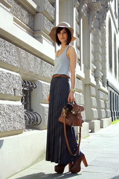 Mulberry bag - Jeffrey Campbell boots - Zara skirt