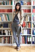 Zara coat - H&M pants