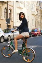 Zara blazer - Zara shorts - Zara shoes