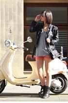 biker boots fiorentini&baker boots - Zara jacket - Zara shorts - t by alexander