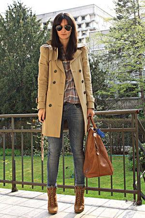 shoes - coat