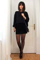 COS jumper - H&M skirt - Zara shoes