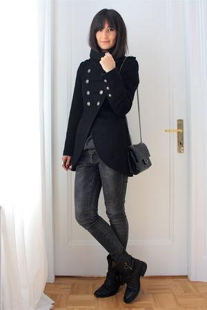Fiorentini & Baker boots - Zara jacket