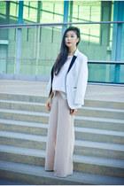 white feminine Target blazer - white similar Express shirt