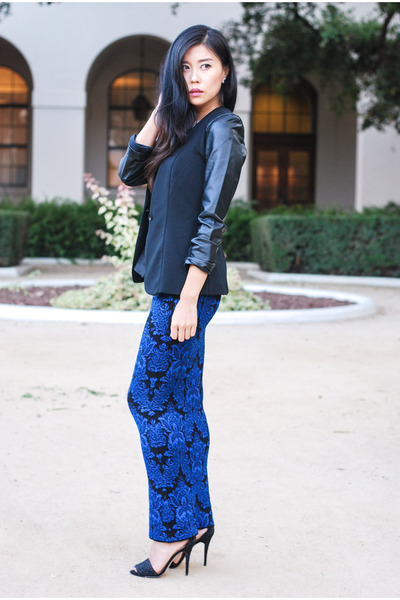 brocade maxi Torn by Ronny Kobo skirt - faux leather Target blazer