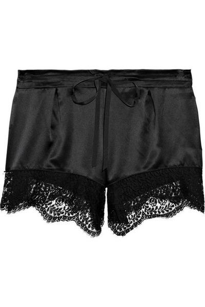 black GoodNight Macaroon shorts