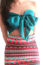 teal GoodNight Macaroon top