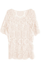 cream GoodNight Macaroon top