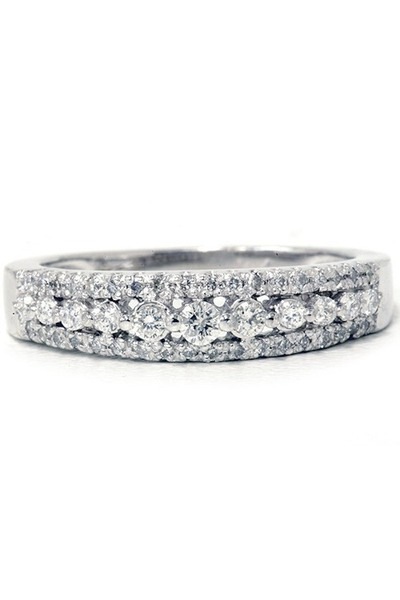 silver GoodNight Macaroon ring