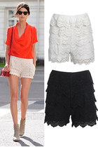 Cream-crochet-goodnight-macaroon-shorts